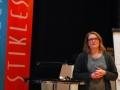 Styreleder Kathrine Moen Bratteng åpnet Nyttårsmøtet 2017